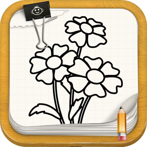 Learn To Draw : Flowers