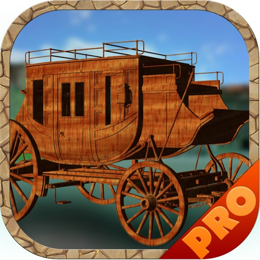 3D Stagecoach Wagon Racing Game PRO