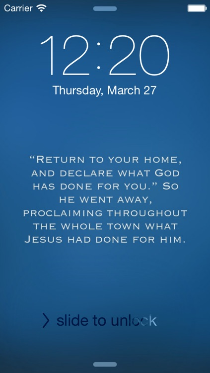 WallBible - Customize your wallpaper with the Verse of the Day screenshot-3