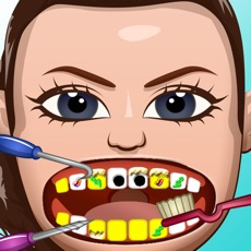 Activities of Celebrity Dentist Office Teeth Dress Up Game - Fun Free Nurse Makeover Games for Kids, Girls, Boys