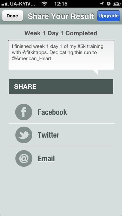 5K Fitness Trainer Free - Run for American Heart screenshot-3