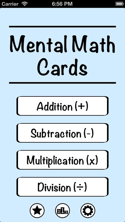 Mental Math Cards - Tips, Fact Practice, & Timed Challenge