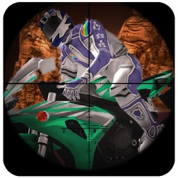 Spy Moto Sniper Attack - Death Moto bike Hunter : fully free game