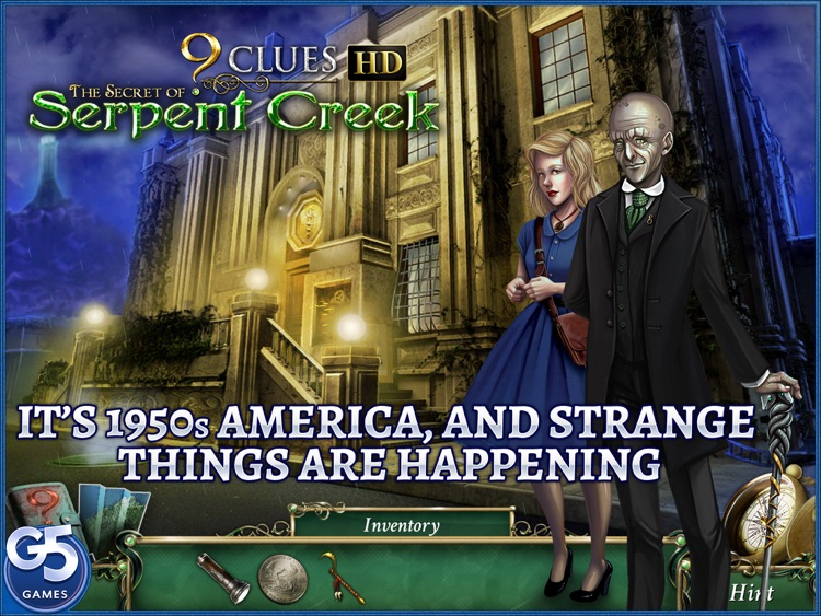 9 Clues: The Secret of Serpent Creek HD (Full) screenshot-0