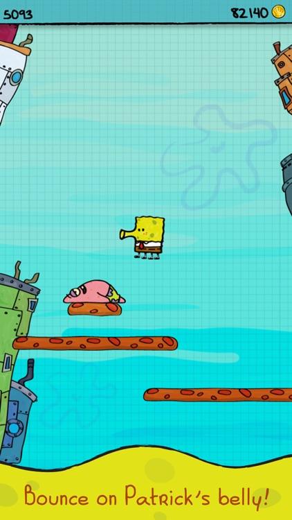 Doodle Jump SpongeBob SquarePants screenshot-4