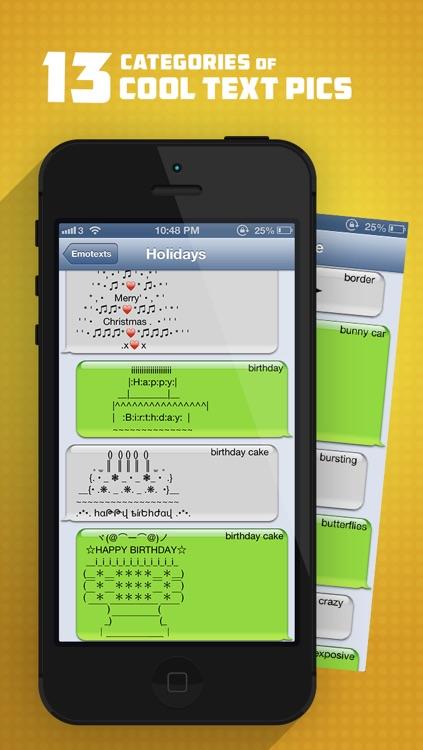 Whatsicons - Emoji Stickers, Emoticons, Text Pics for Whatsapp & Text Messaging screenshot-4