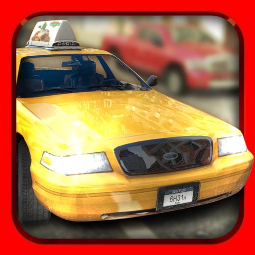 такси гонщик . бесплатно ума Taxi гонки игра для детей (Taxi Racer)