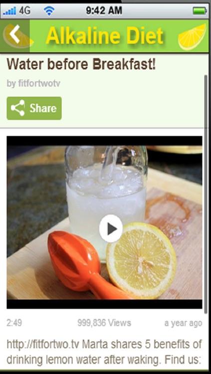 Alkaline Diet App:Also known as the alkaline ash diet and acid diet+ screenshot-3