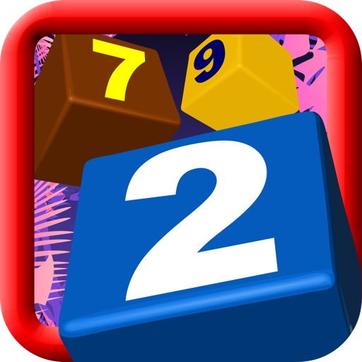 Digit Blocks: viva la match three puzzle classic game multiplayer - share with friends on facebook and twitter icon