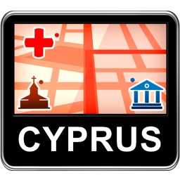 Cyprus Vector Map - Travel Monster