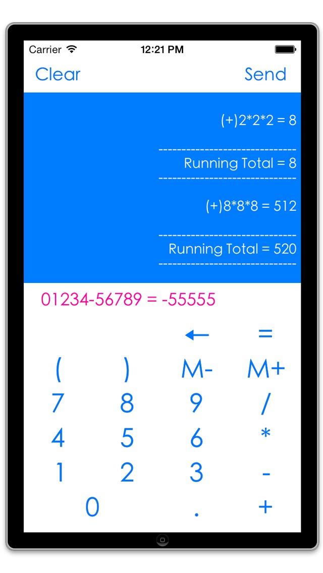 Memory Calculator With Tape Print App Price Drops