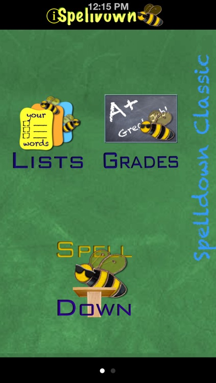 SpellDown Spelling Bee screenshot-0