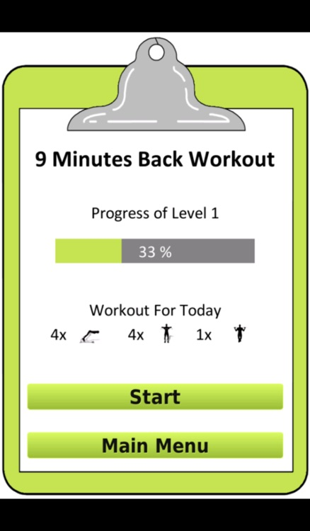 9 Minutes Back Muscle Workout