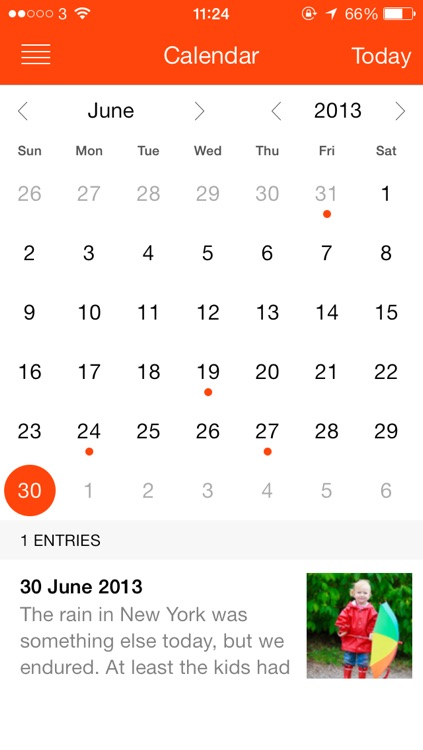 My iStory — keep a diary of your life!