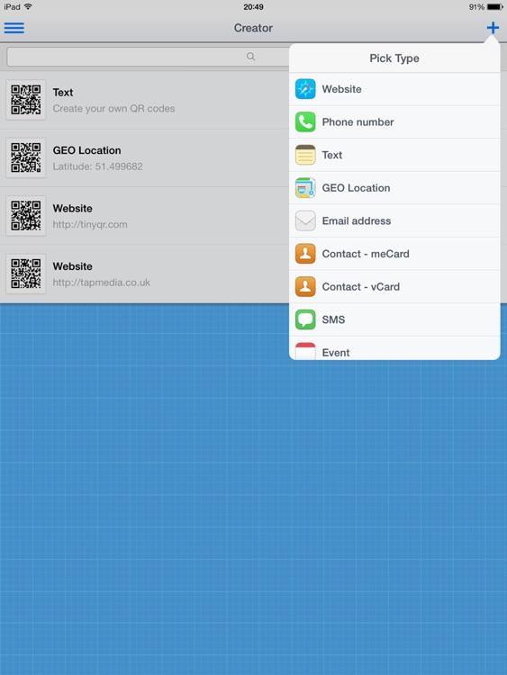 QR Reader for iPad (Premium)