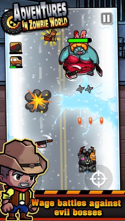 Adventures in Zombie World – Multiplayer Car Racing