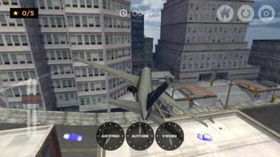 飛行機航空機シミュレータレーシング飛行SIM 3Dのおすすめ画像3