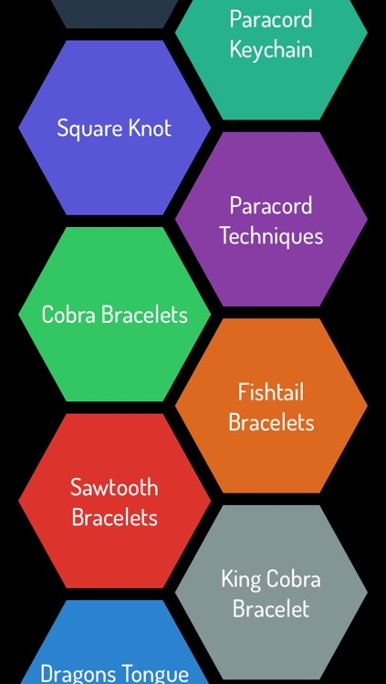 Paracord - Ultimate Video Guide For Bracelets, Watch Band, Knots, Bags, Keychains and many more screenshot-0