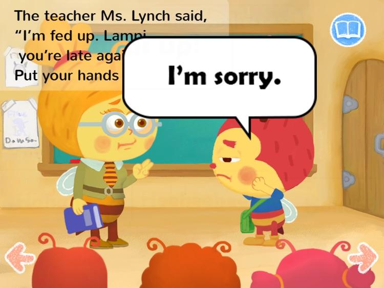 Kids Story Books-Lampi HD1 (preposition UP) screenshot-3