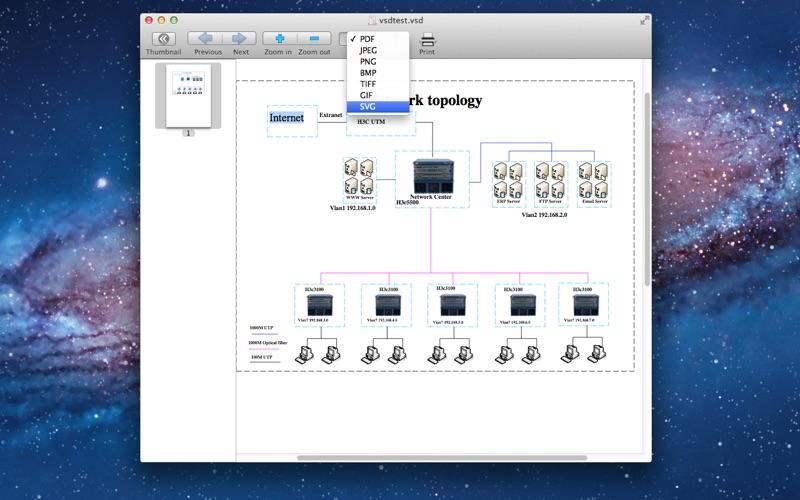 点击获取VSD Viewer + VSD to PDF