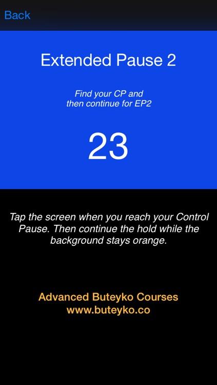 Buteyko Breathing Pro screenshot-4
