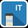 Italia (con Roma y Florencia) mapa offline, guía, clima, hoteles. Libre GPS navegación.