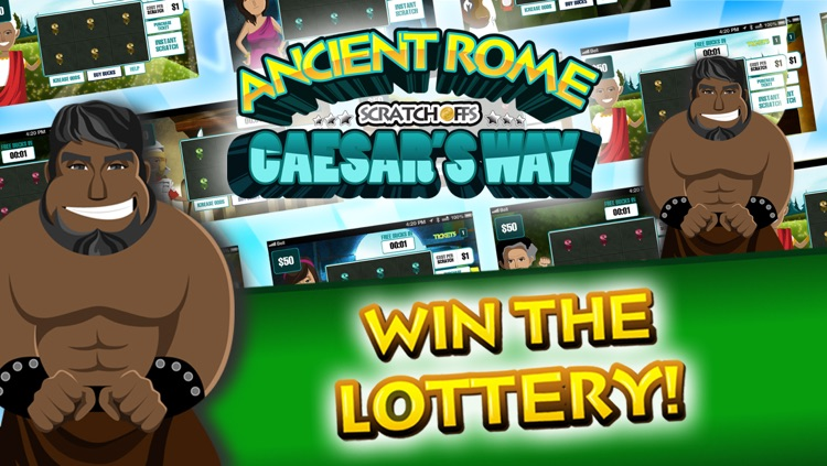 Ancient Rome Lucky Scratch Off Tickets Free