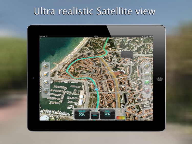 iWay GPS Navigation for iPad - Turn by turn voice guidance with offline mode