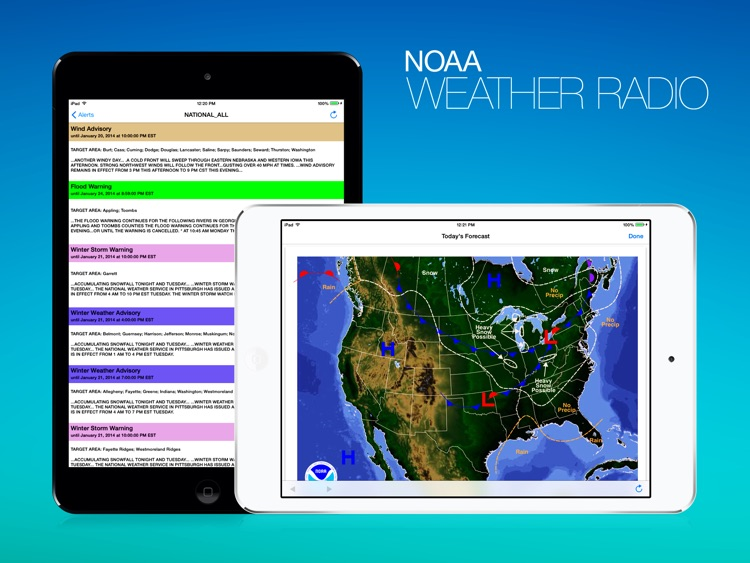 NOAA Weather Radio HD screenshot-3