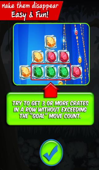 Jewel puzzle : Gems ice block puzzle match color diamond screenshot three