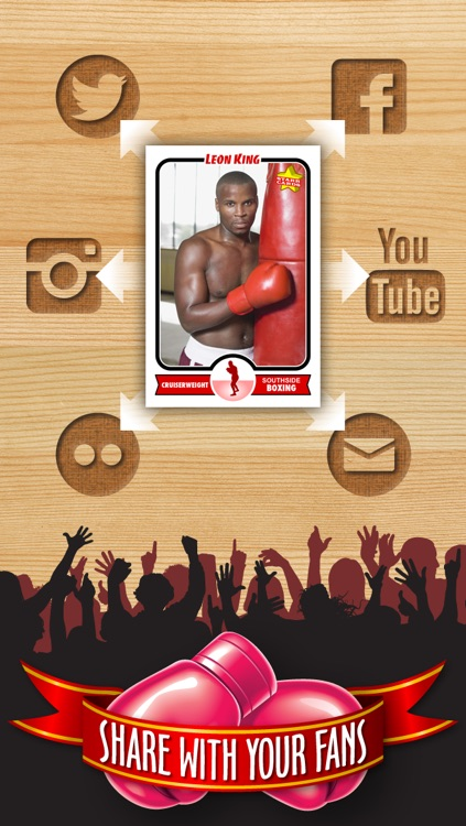 Boxing Card Maker - Make Your Own Custom Boxing Cards with Starr Cards screenshot-3