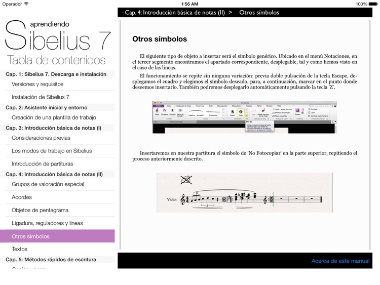 Aprendiendo Sibelius 7 screenshot-3