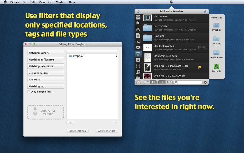 Trickster - Use Recent Files Screenshots