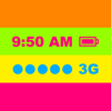 Barra de colores en la parte superior (personaliza y cambia fondos de pantalla en ios 7)