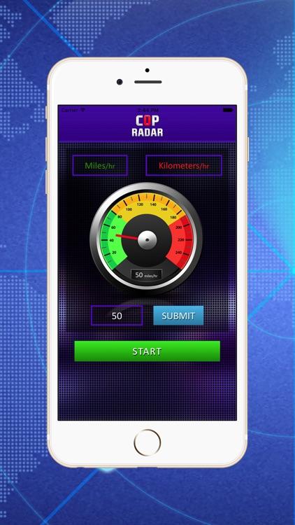 Cop Radar - Speed Detector