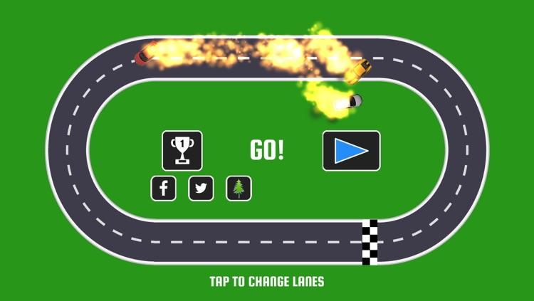 Wrong Way Race Track - Endless Racing Game
