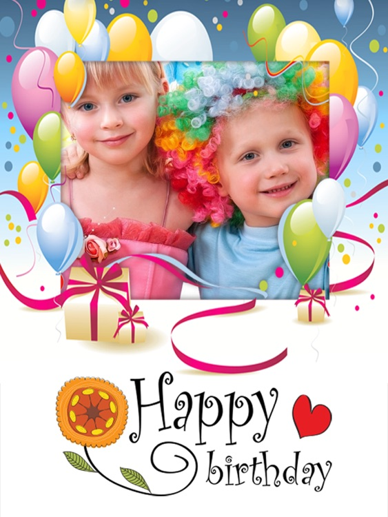 Happy Birthday Photo Frames HD