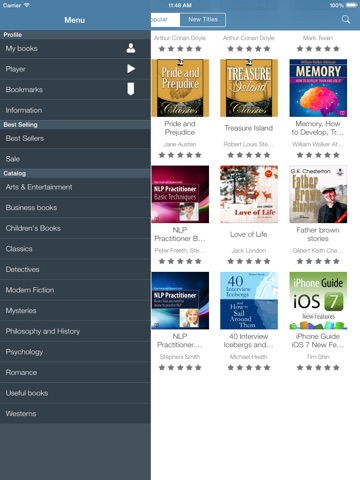 Audiobooks from VoxClub: download and listen the best audio books Скриншоты9