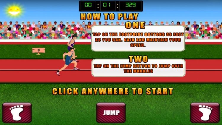 Hurdle Race - Athletics Game