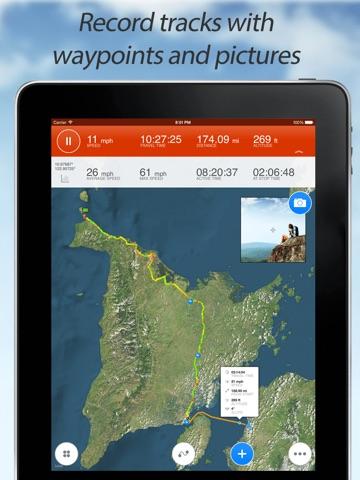 Track Kit - GPS Tracker with offline maps-ipad-0