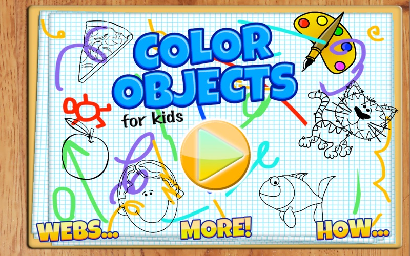 Color Objects For Kids screenshot 1