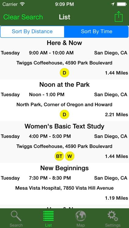San Diego NA Meetings