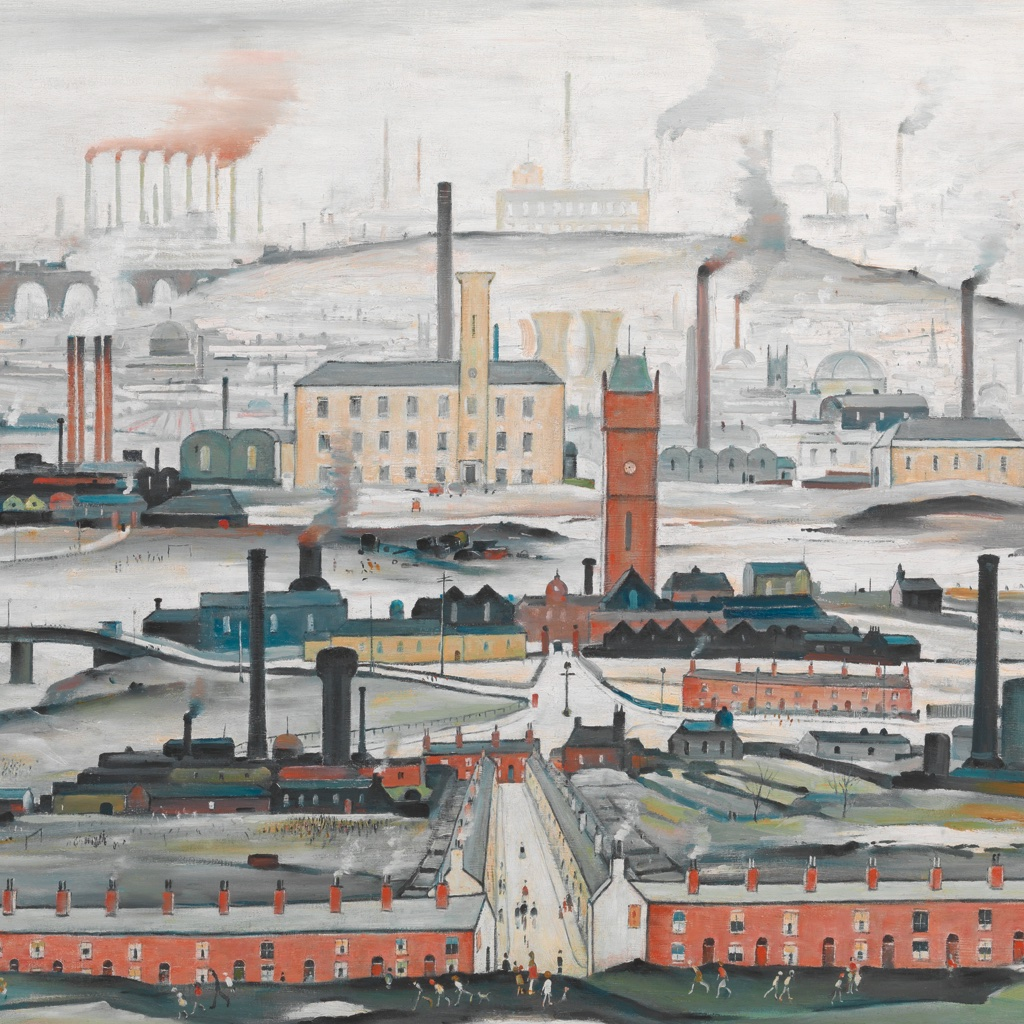 Lowry, and the Painting of Modern Life