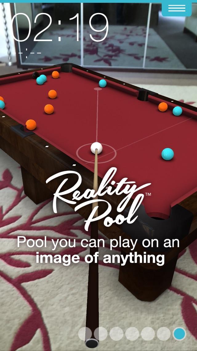 Reality Pool - 3D Augmented Reality Pool
