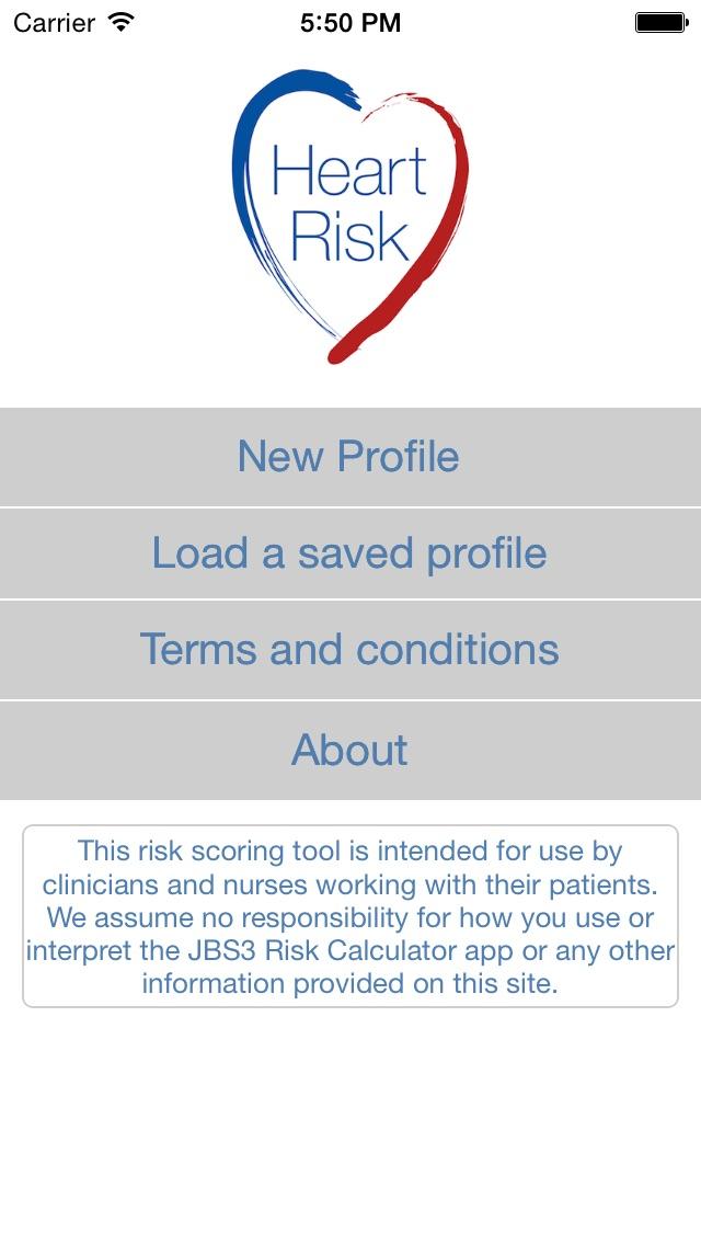 Screenshot for JBS3 Heart Risk in Brazil App Store