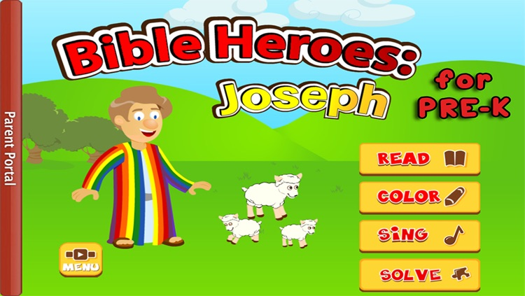 Kids Bible: Joseph and the Pharoah's Dreams - Bible Heroes Adventure Story for Children with Coloring, Singing, Puzzles, and Games