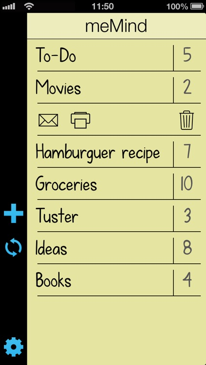 meMind Lite - Great to-do and list organizer