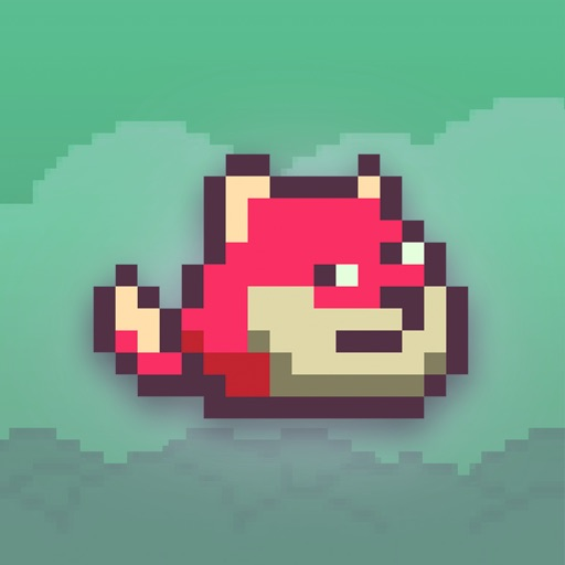 Fox Fox Jump with Flappy Tail: Flying Tiny Wings like Bird for Addicting Survival Games