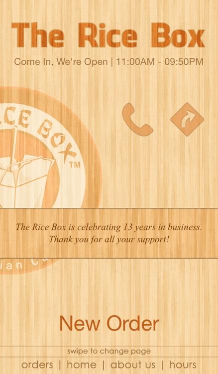The Rice Box