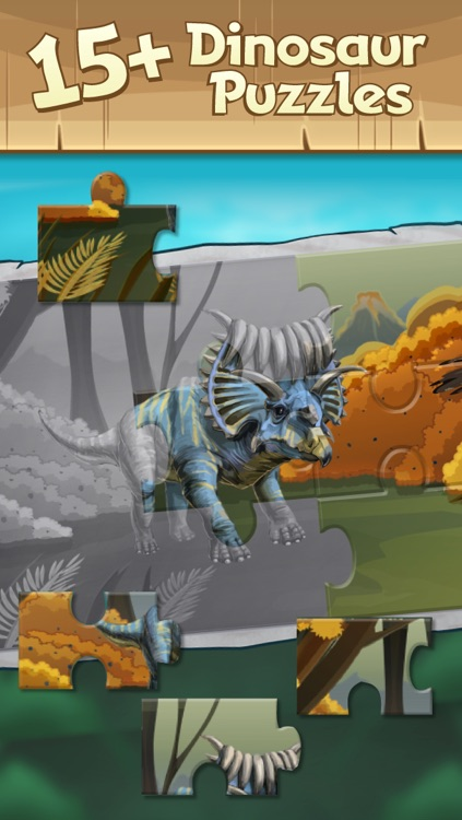 Discovery Kids Dinosaur Puzzle & Play screenshot-1